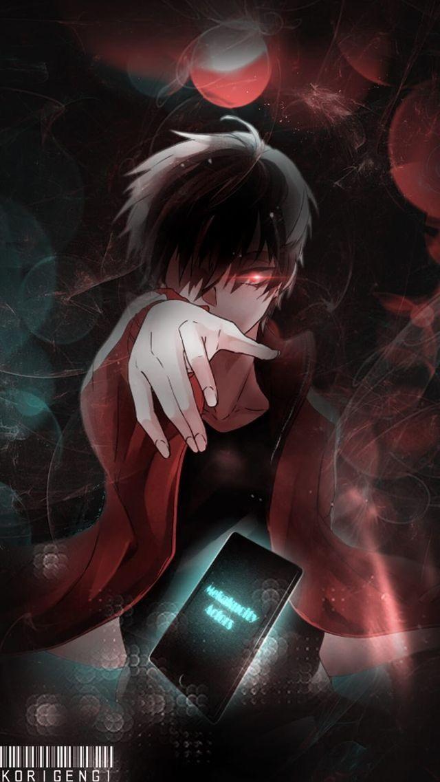 Обои на телефон девушка и парень аниме (15)