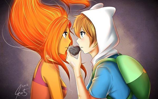 Обои на телефон девушка и парень аниме (3)