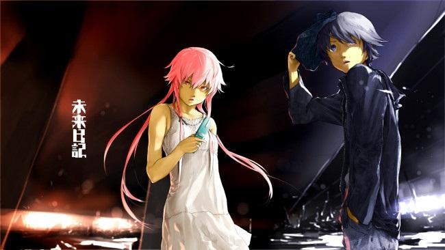 Обои на телефон девушка и парень аниме (4)