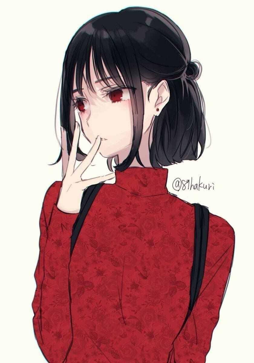 Очень красивые девочки аниме, картинки и фото 22