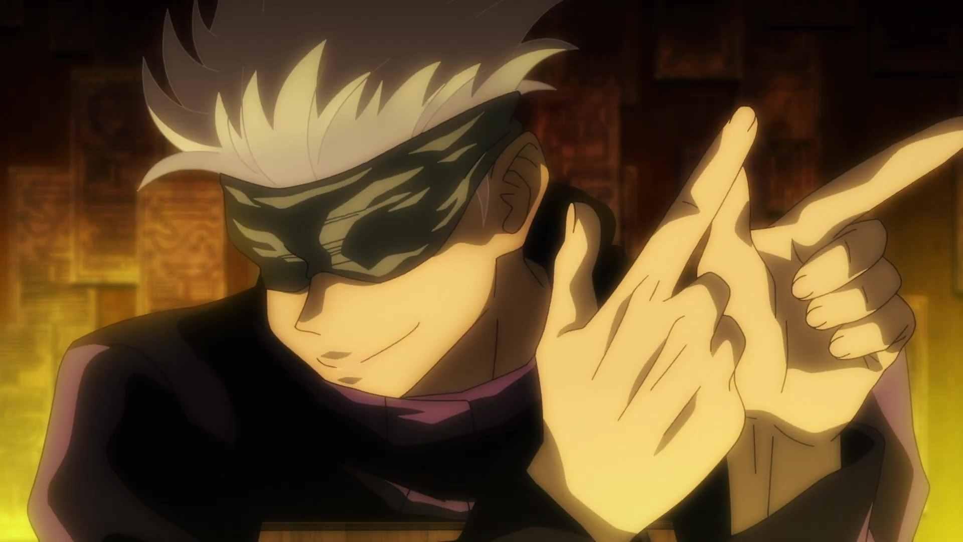Персонаж Сатору магическая битва, аниме картинки 09