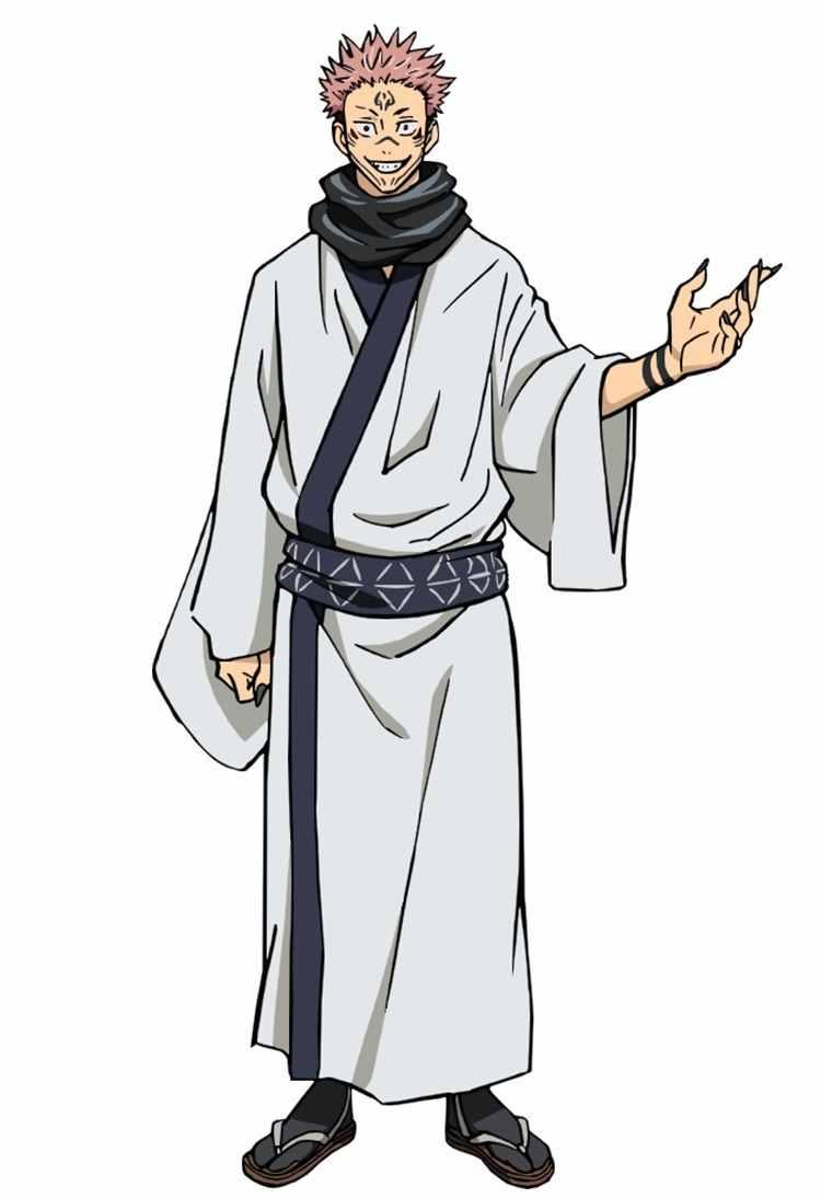 Персонаж Сукуна магическая битва, аниме картинки 05