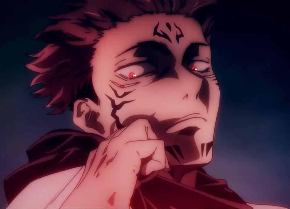 Персонаж Сукуна магическая битва, аниме картинки 10