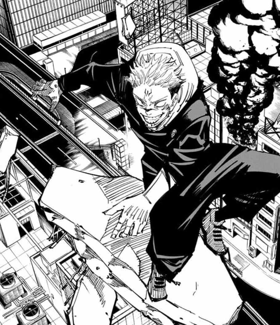 Персонаж Сукуна магическая битва, аниме картинки 24