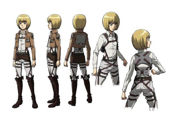 Персонажи Атака Титанов с картинками (25)
