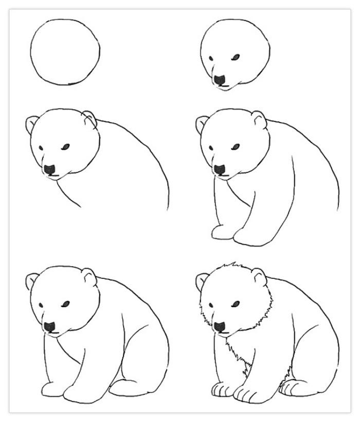 Пошагово рисунки для срисовки   подборочка (21)