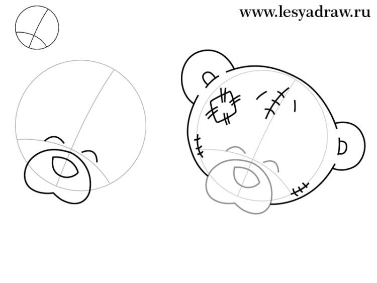 Пошагово рисунки для срисовки   подборочка (6)