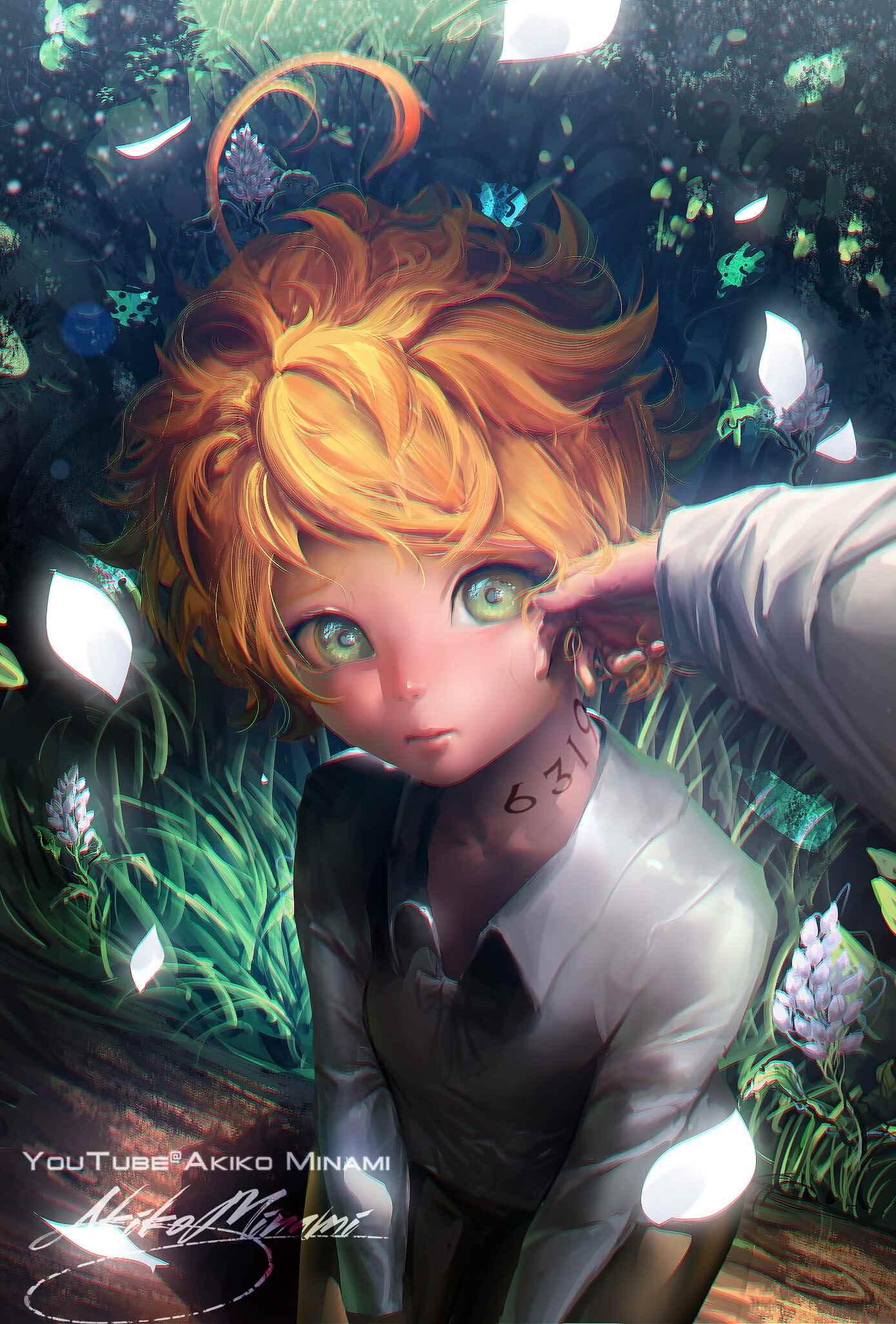 Прикольная эмма из аниме обещанный неверленд 10