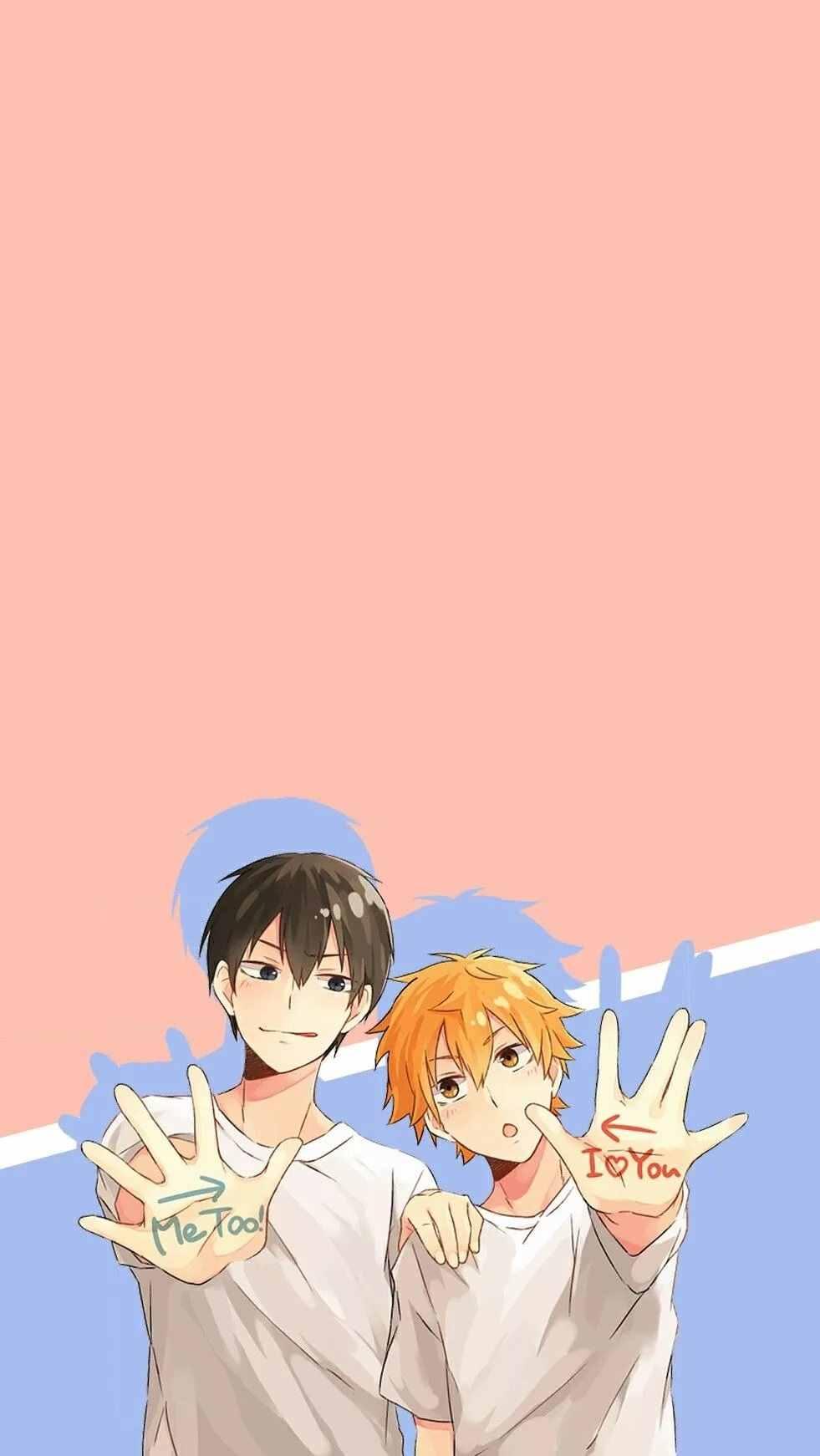 Прикольные аватарки для друзей любящие аниме 11
