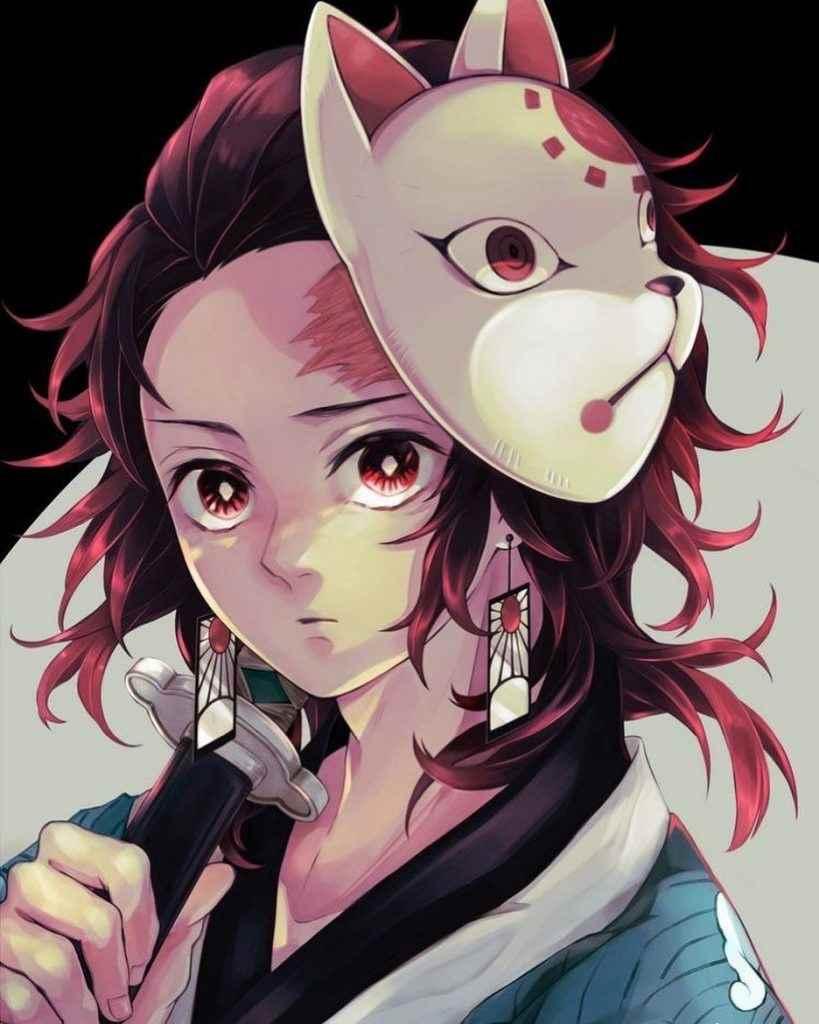 Прикольные картинки аниме клинок рассекающий демонов 17