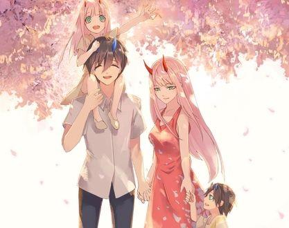 Романтика и аниме, самые милые арты и картинки (11)