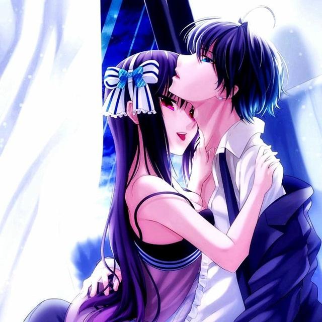 Романтика и аниме, самые милые арты и картинки (14)