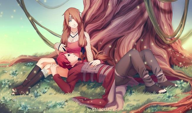 Романтика и аниме, самые милые арты и картинки (19)