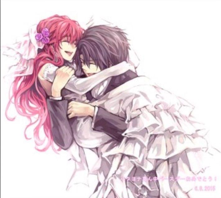 Романтика и аниме, самые милые арты и картинки (2)