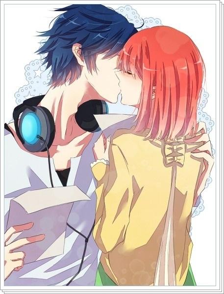 Романтика и аниме, самые милые арты и картинки (21)