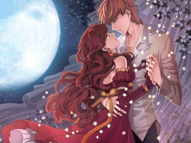 Романтика и аниме, самые милые арты и картинки (23)