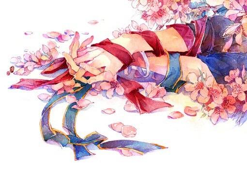Романтика и аниме, самые милые арты и картинки (27)