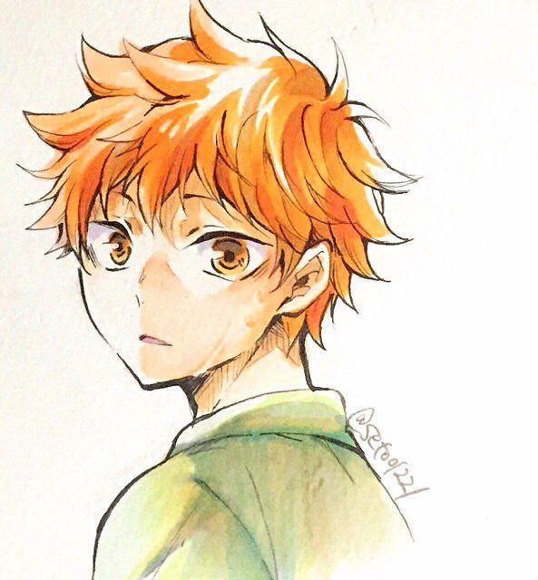 Шоё Хината, арты главного героя из Haikyuu!! (10)