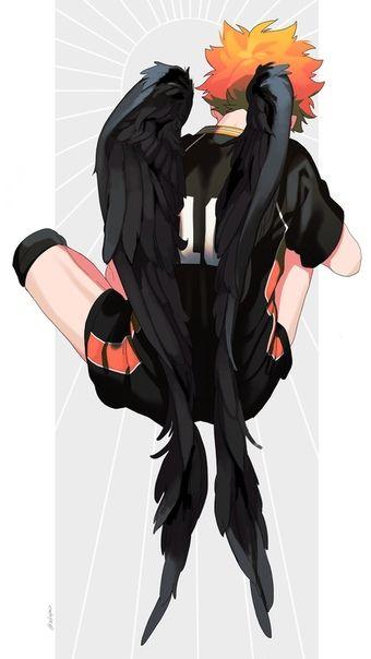 Шоё Хината, арты главного героя из Haikyuu!! (15)