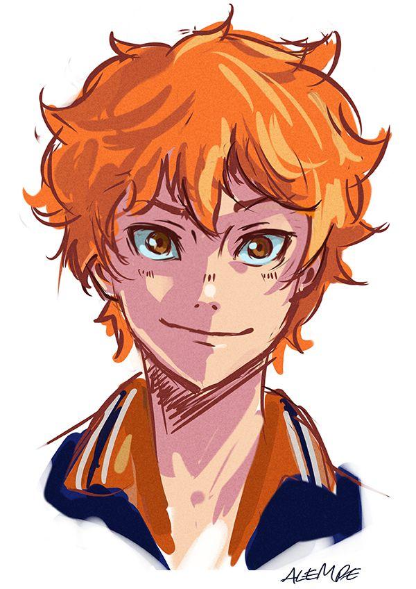 Шоё Хината, арты главного героя из Haikyuu!! (31)