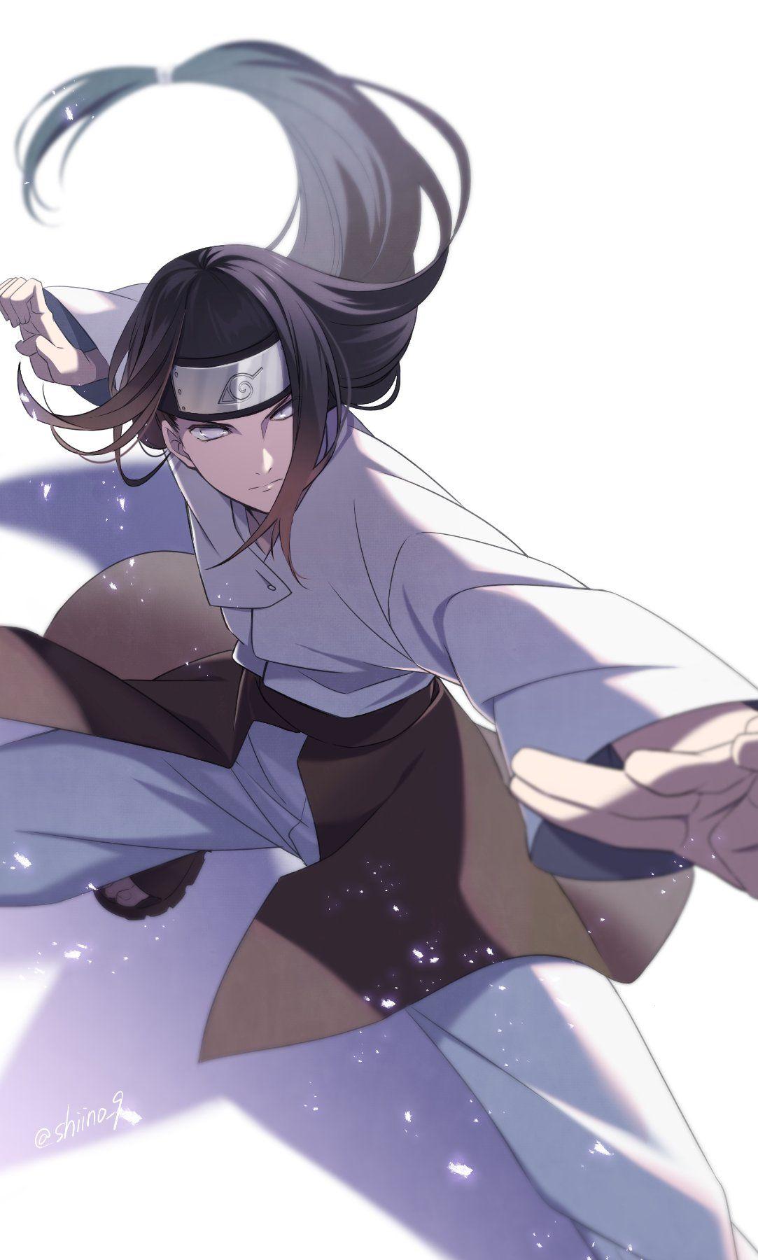 Самые классные аниме арты про Неджи (25)