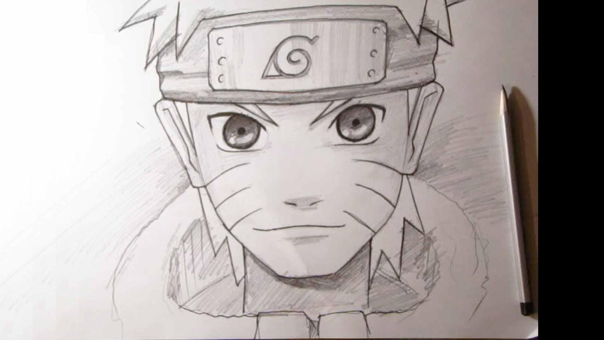 Самые красивые аниме карандашом легкие для срисовки 02