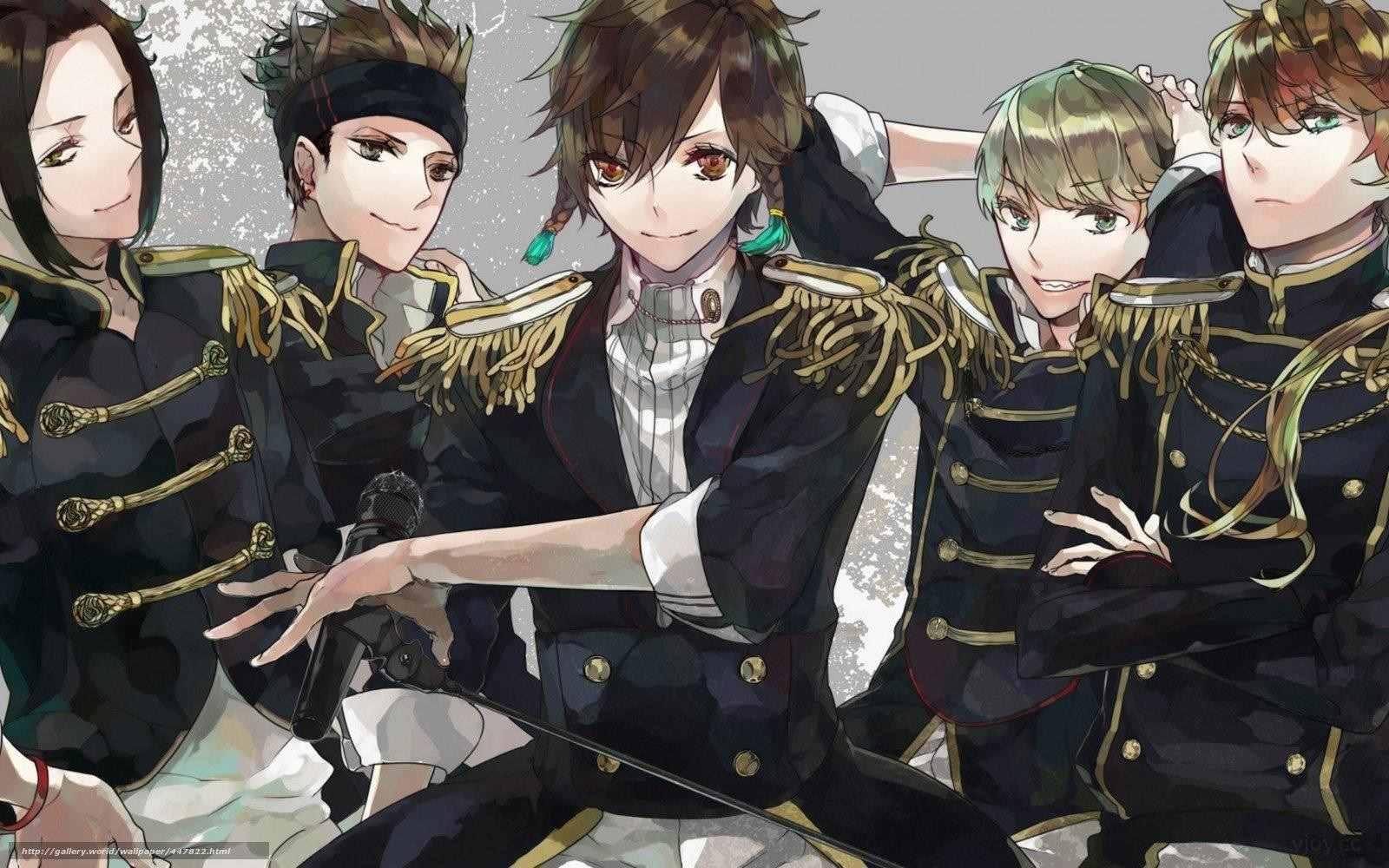Самые красивые аниме мальчики, фото 06