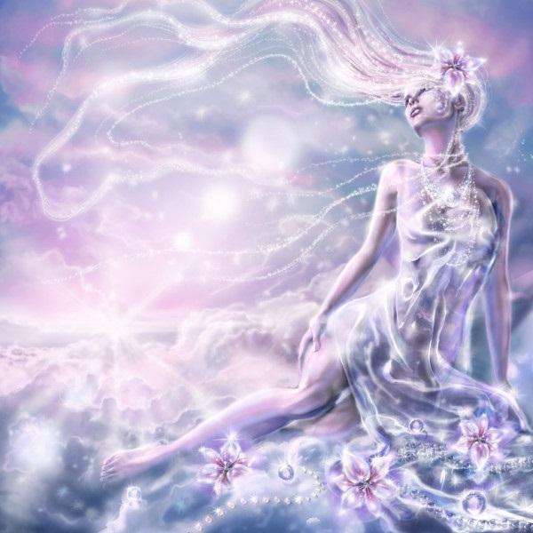 Самые красивые богини, их арт картинки (1)