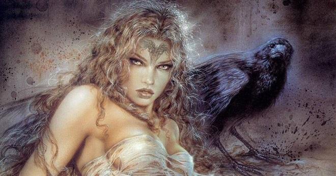 Самые красивые богини, их арт картинки (12)