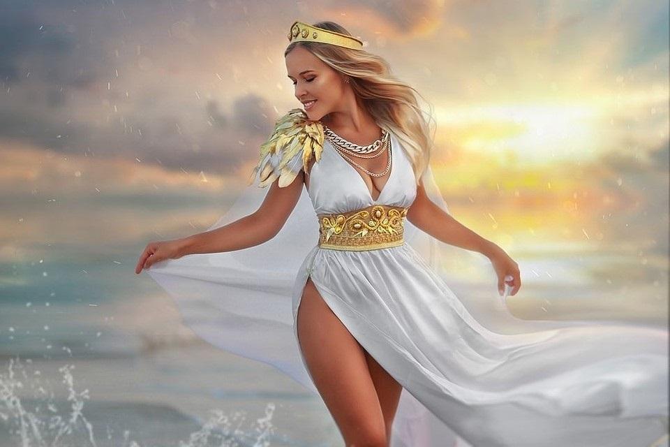 Самые красивые богини, их арт картинки (13)