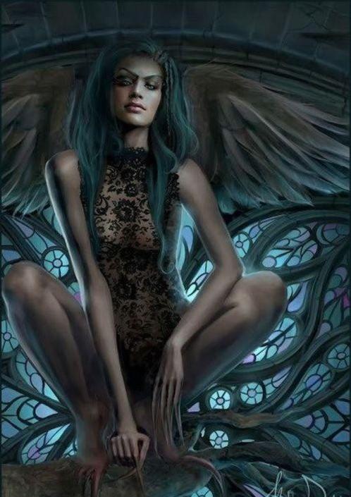 Самые красивые богини, их арт картинки (15)