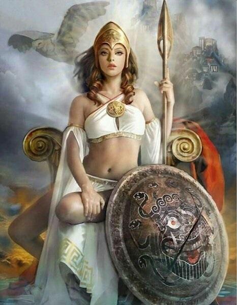Самые красивые богини, их арт картинки (5)