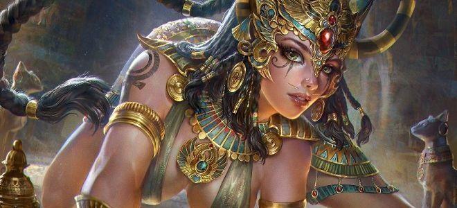 Самые красивые богини, их арт картинки (7)