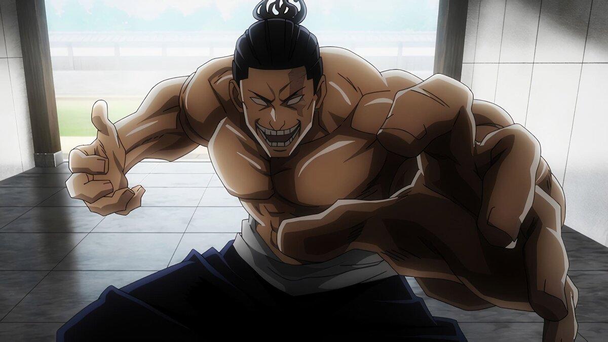 Сильный Аой Тодо из магической битвы