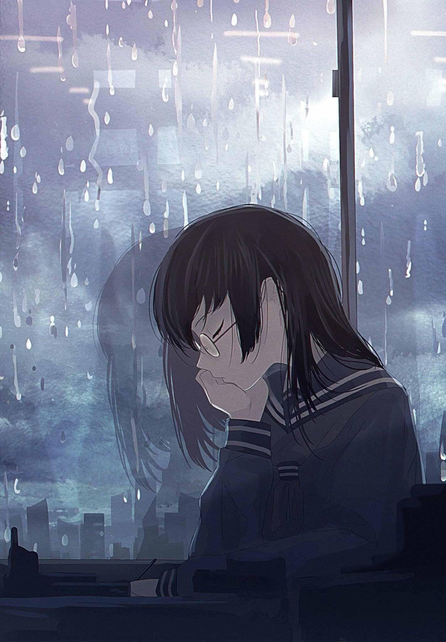 Скачать грустные аниме аватарки, в лучшем качестве 25
