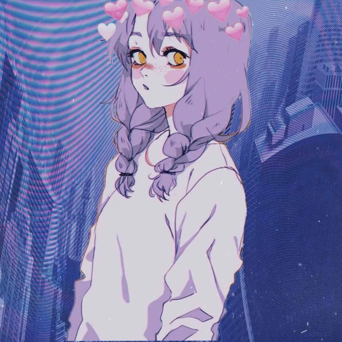 Скачать прикольные аниме аватарки, картинки 15