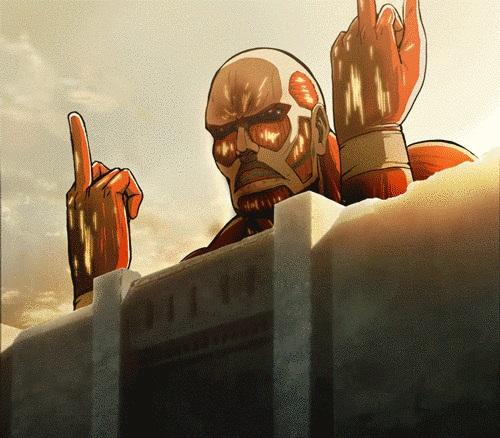 Смешные и мемные картинки из Атаки Титанов (3)