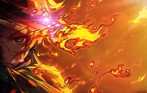 Танджиро исполняет танец бога огня в новом трейлере игры Demon Slayer 3