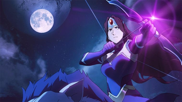 Топовые аниме картинки Дота 2 (1)