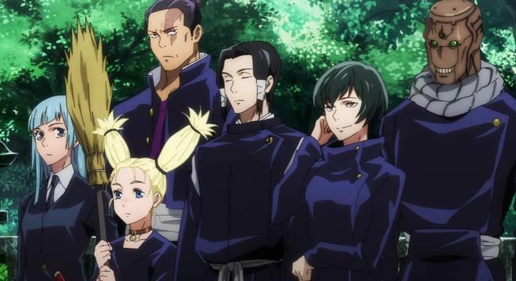Второстепенные персонажи аниме магическая битва