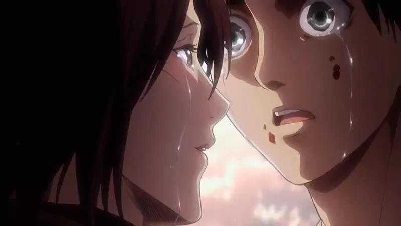 Атака Титанов Вот почему между Эреном и Микасой никогда не было поцелуев