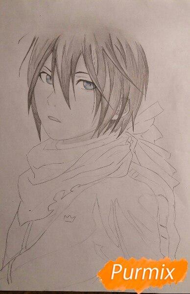 Бездомный Бог рисунки карандашом в хорошем стиле (8)