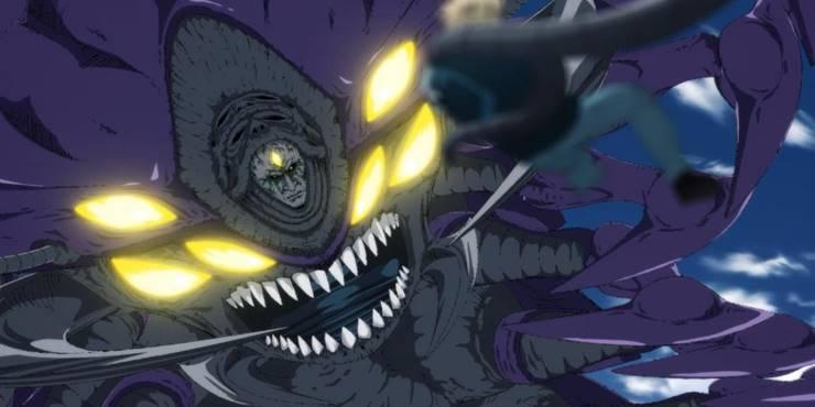 Древняя сороконожка аниме ванпанчмен