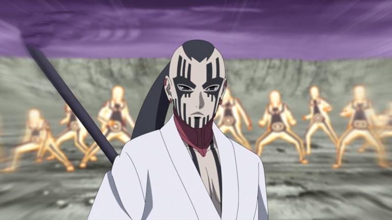 Джиген из аниме Боруто