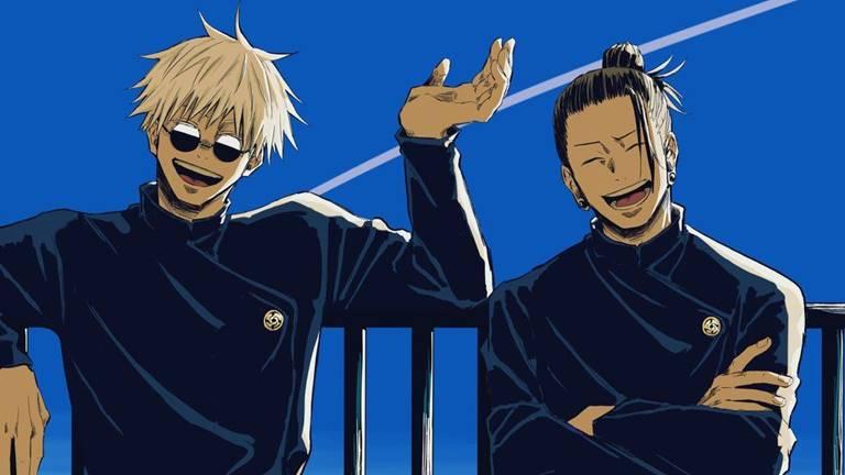 Годзё и Гето два близких друга были