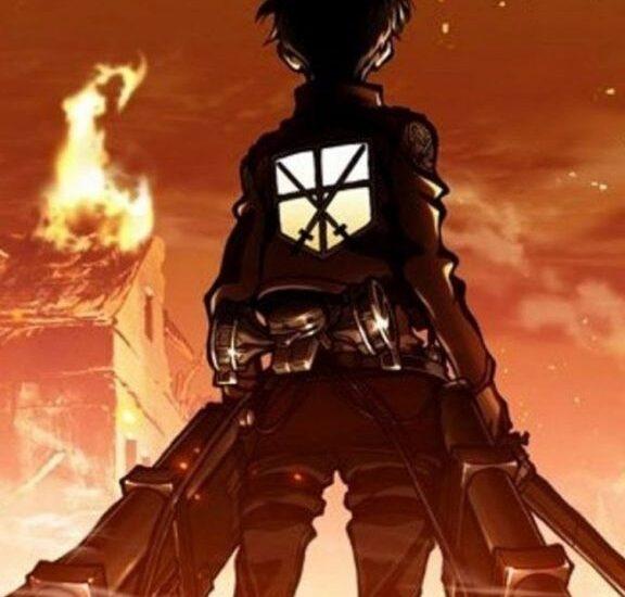 Микаса топовые арты девушки из аниме Атака Титанов (16)
