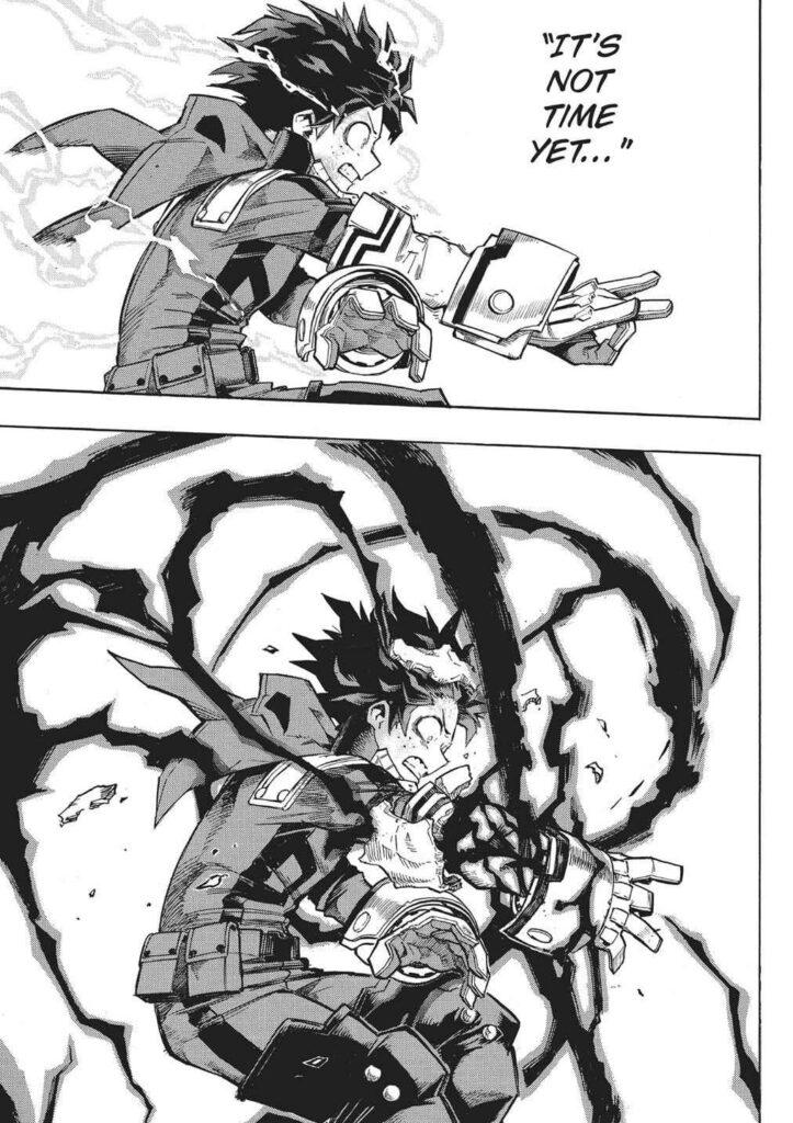 Моя геройская академия: почему Изуку спровоцировал причуду Черный хлыст?