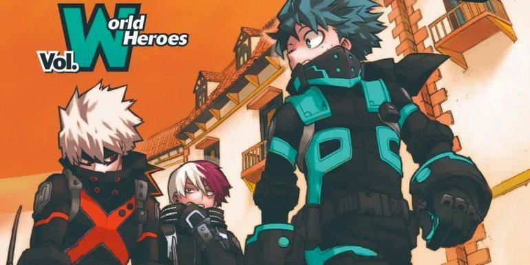 Моя Геройская Академия Анонсирован неопубликованный том World Heroes