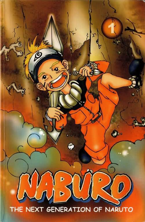 Набуро, копия манги Наруто