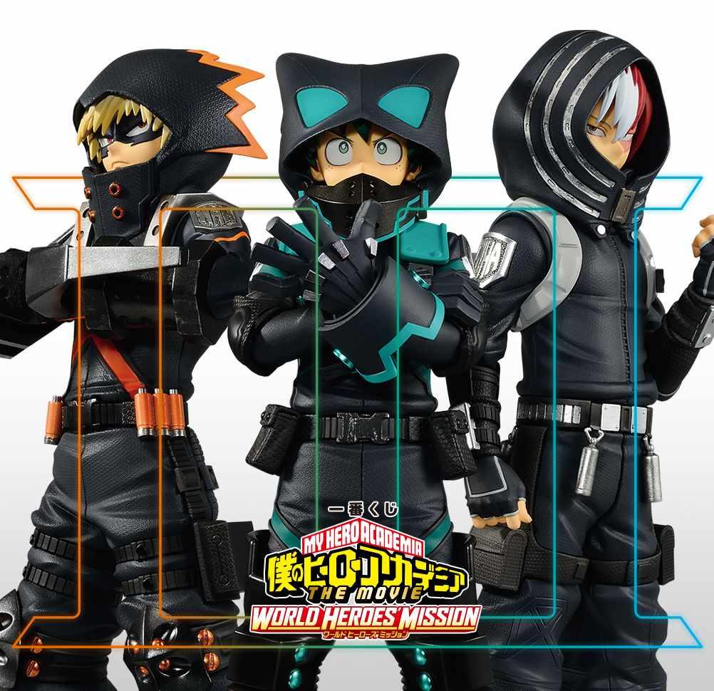 Моя геройская академия: миссия мировых героев представляет свои первые фигурки